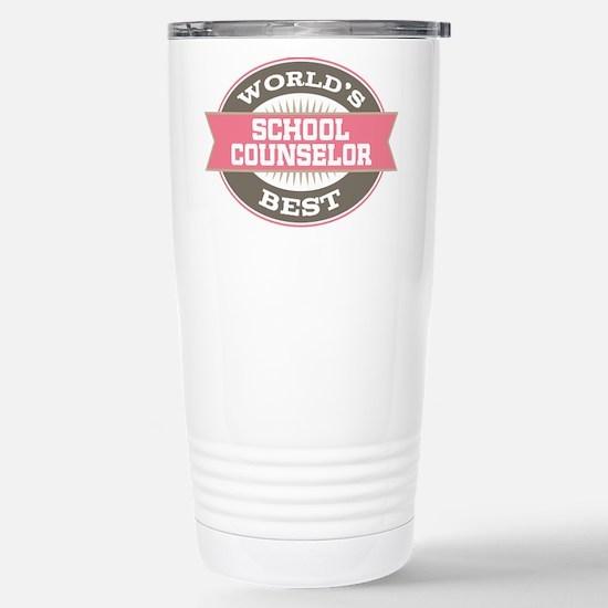 school counselor Stainless Steel Travel Mug