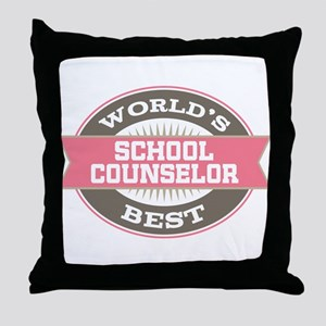 school counselor Throw Pillow