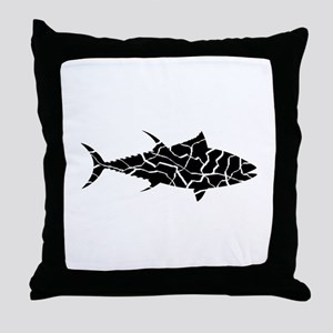 TUNA Throw Pillow