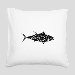 TUNA Square Canvas Pillow