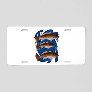 REDS Aluminum License Plate