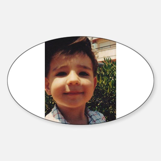 Vintage Retro Cute Boy Sweet Smiling Child Decal