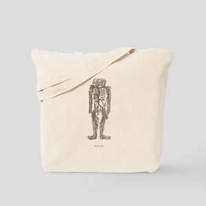 Circulatory System, Veins Tote Bag
