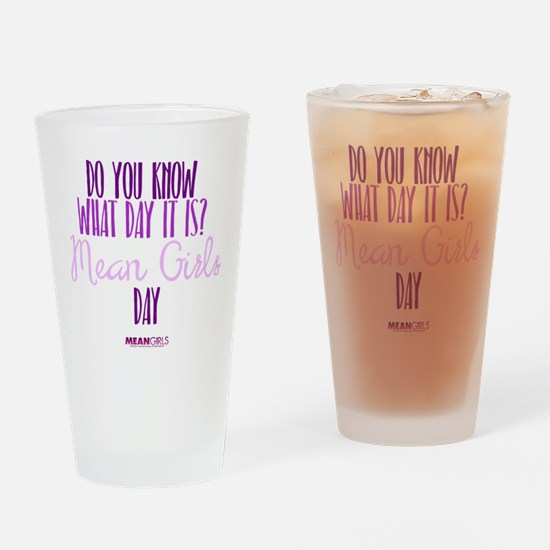 Mean Girls Day Drinking Glass