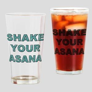 SHAKE YOUR ASANA Drinking Glass