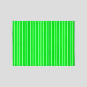 Sports green 5'x7'Area Rug
