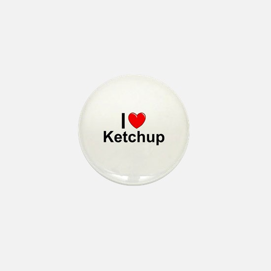 Ketchup Mini Button