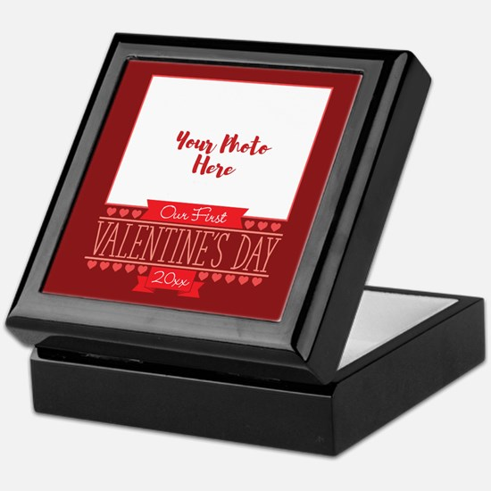 Our First Personalized Keepsake Box