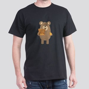 Brown Bear eating Pizza T-Shirt