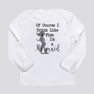 Drink like a fish Long Sleeve T-Shirt