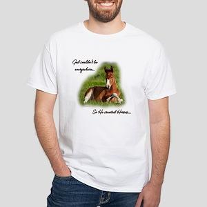 Foal White T-Shirt