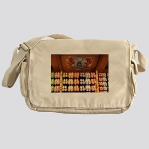 Wooden painted clogs, Holland 2 Messenger Bag