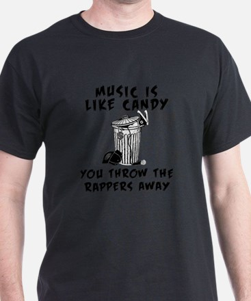 Music is Like Candy T-Shirt