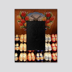 Wooden painted clogs, Holland 2 Picture Frame