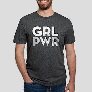 Girl Power Mens Tri-blend T-Shirt