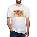 Flat S Carolina Fitted T-Shirt