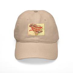 Flat S Carolina Baseball Cap