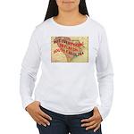 Flat S Carolina Women's Long Sleeve T-Shirt