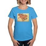 Flat S Carolina Women's Dark T-Shirt