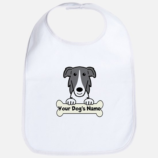 Personalized Borzoi Bib