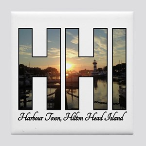 Harbour Town Hilton Head Tile Coaster