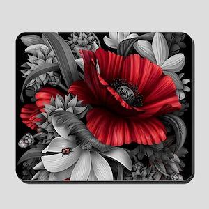 Poppy Power Mousepad