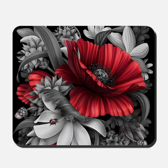 Poppy Power Mousepad