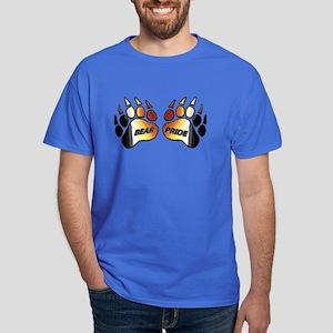 2 BEAR PRIDE PAWS/TEXT/2 Dark T-Shirt