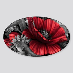 Poppy Power Sticker