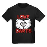 Love Darts Kids Dark T-Shirt