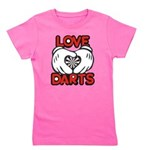Love Darts Girl's Tee