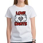 Love Darts Women's T-Shirt