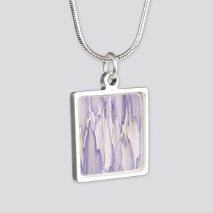 Abstract Orchid Painting Necklaces