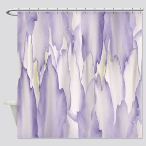 Abstract Orchid Painting Shower Curtain