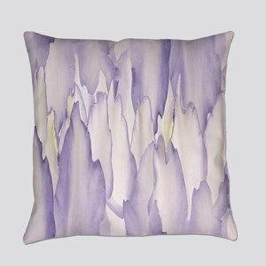 Abstract Orchid Painting Everyday Pillow
