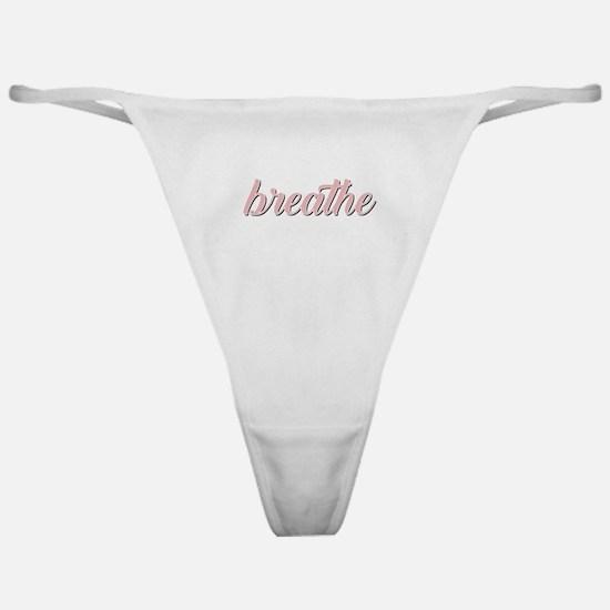 Breathe Classic Thong
