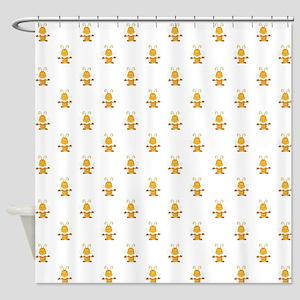 YOGA BEE Shower Curtain