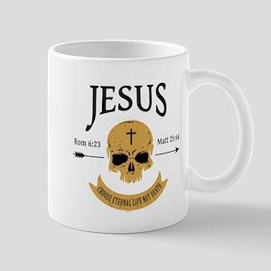 Jesus Skull Mug