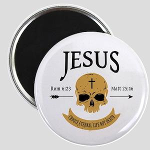 Jesus Skull Magnet
