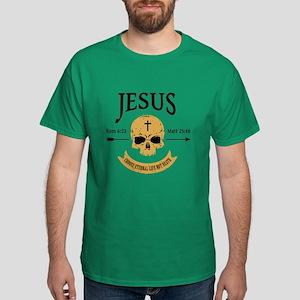 Jesus Skull Dark T-Shirt