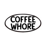 Coffee Whore Caffeine Humor Patch