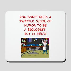 A funny joke Mousepad