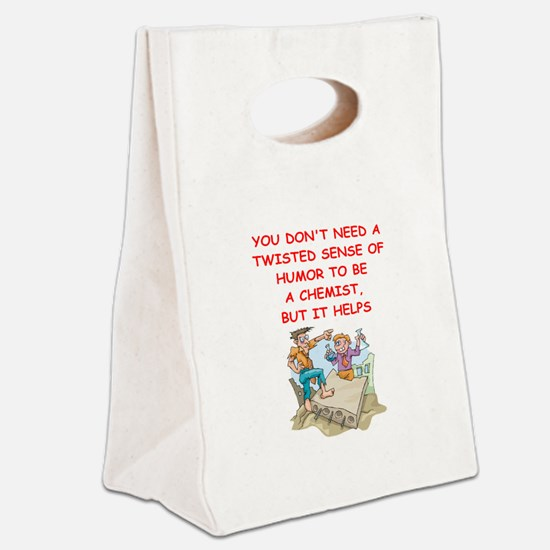 chemist Canvas Lunch Tote