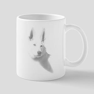 White Shepherd Cup Mugs