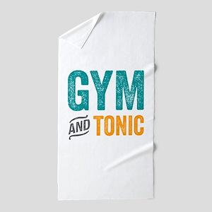Gym and Tonic Beach Towel