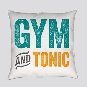 Gym and Tonic Everyday Pillow