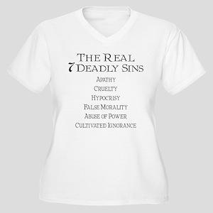 Seven Deadly Sins Plus Size T-Shirt