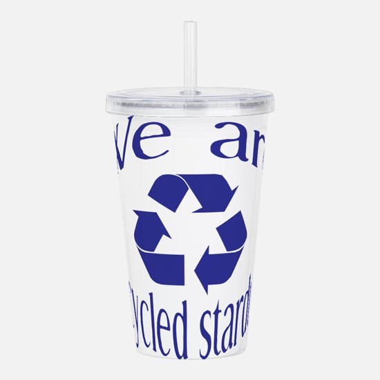 Recycled Stardust Acrylic Double-wall Tumbler