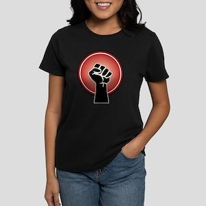 Powerful Red Feminst Symbol T-Shirt