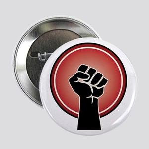 "Powerful Red Feminst Symbol 2.25"" Button"